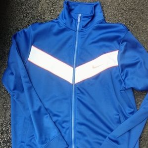 Men's Nike Long Sleeve Jacket Size XL Blue